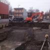 Excavation pour blocs appartements