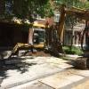 Excavation pour remplacement de solage