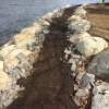 Enrochement pour stabilisation de la rive