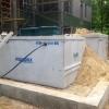 Installation septique Écoflo en zone innondable